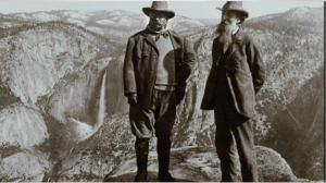 TR & Muir at Yosemite