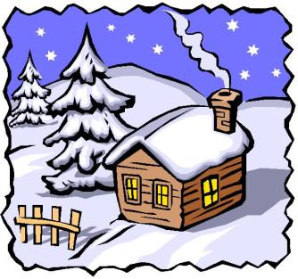 cabin-in-snow